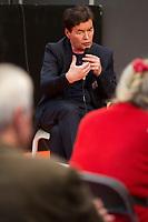 EXCLUSIF : Foire du livre de Bruxelles : Conf&eacute;rence : &quot;Comment r&eacute;enchanter la Justice&quot; - Avec Bernard Wesphael, Alessandra d'Angelo et Jean-Fran&ccedil;ois Funck, magistrat - Mod&eacute;rateur : Dominique Demoulin.<br /> Belgique, Bruxelles, 9 mars 2017.