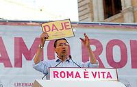 20130607 ROMA-POLITICA: IGNAZIO MARINO CHIUDE LA CAMPAGNA ELETTORALE PER IL BALLOTTAGGIO