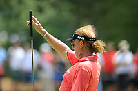Miguel Angel Jimenez (ESP) during the second round of the Shot Clock Masters, played at Diamond Country Club, Atzenbrugg, Vienna, Austria. 08/06/2018<br /> Picture: Golffile | Phil Inglis<br /> <br /> All photo usage must carry mandatory copyright credit (&copy; Golffile | Phil Inglis)