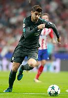 Chelsea FC's Alvaro Morata during Champions League 2017/2018, Group C, match 2. September 27,2017. (ALTERPHOTOS/Acero)<br /> Champions League 2017/2018 <br /> Atletico Madrid - Chelsea <br /> Foto Alterphotos / Insidefoto