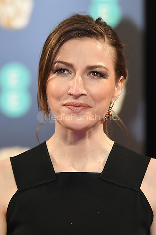 LONDON, ENGLAND - FEBRUARY 12: Kelly Macdonald attends the 70th EE British Academy Film Awards (BAFTA) at Royal Albert Hall on February 12, 2017 in London, England.<br /> CAP/BEL<br /> &copy;BEL/Capital Pictures /MediaPunch ***NORTH AND SOUTH AMERICAS ONLY***