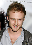 """BEVERLY HILLS, CA. - November 13: Actor Ben Foster arrives at the Los Angeles Premiere of """"Milk"""" at the Academy of Motion Pictures Arts and Sciences on November 13, 2008 in Beverly Hills, California."""