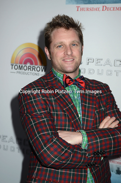 "George Oliphant attends the party for NBC's "" A White House Christmas: First Families Remember"" on December 11, 2012 at Tenjune in New York City."