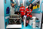 Milano 29 febbraio 2016, Laura e Lodovica due giovani volontarie della Croce Verde di via San Vincenzo 25