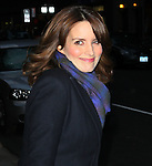 "Celebrities visit ""Late Show with David Letterman"" New York, Ny January 5, 2012"