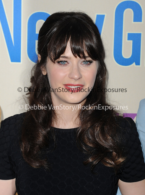 Zooey Deschanel  at Fox's NEW GIRL Screening and Q&A at The Leonard H. Goldenson Theatre in North Hollywood, California on April 30,2013                                                                   Copyright 2013 Hollywood Press Agency