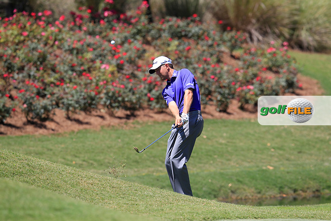 Bryce Molder (USA) on the 8th during round 3 at The Players, TPC Sawgrass, Ponte Vedra Beach, Florida, United States. 09/05/2015<br /> Picture Fran Caffrey, www.golffile.ie