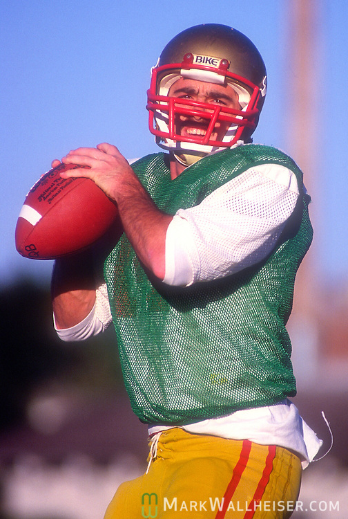 Kirk Coker, a walk on quarterback at FSU from neighboring Taylor County,  Playing behind quarterback Eric Thomas, Coker found his grove in the latter half of '84 leading the Seminoles to wins over Arizona State (8 for 11 for 203 yards and 3 touchdowns) and South Carolina (11-23 for 207 yards) on the road in a year that saw freshman Danny McManus moving up the depth charts.