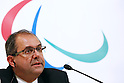 Javier Gonzalez, DECEMBER 16, 2014 : press conference of the 1st IPC- Tokyo 2020 Project Review the Tokyo Organising Committee of the Olympic and Paralympic Games (TOCOG) members and IPC committee members was held in the Grand Prince Hotel New Takanawa, Tokyo, Japan. (Photo by AFLO SPORT) [1180]