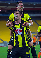 181222 A-League Football - Wellington Phoenix v Brisbane Roar