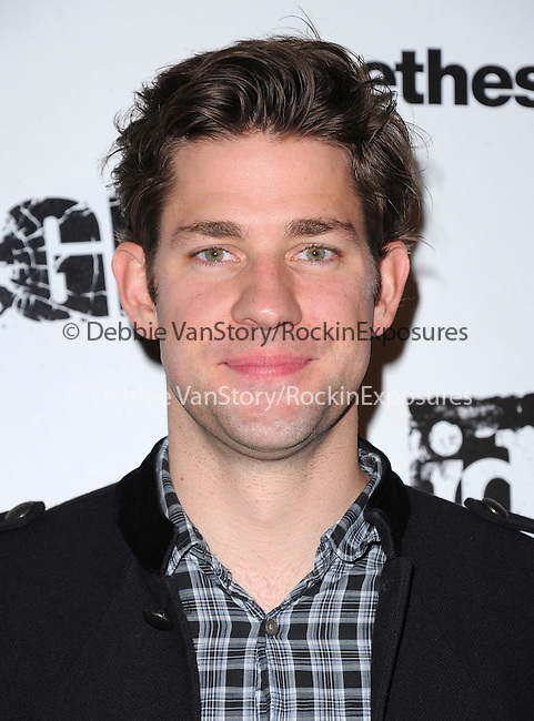 John Krasinski  attends the official launch party for the most anticipated video game of the year RAGE in ChinaTown in Los Angeles, California on September 30,2011                                                                               © 2011 Hollywood Press Agency