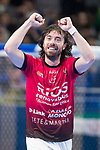 Rios R. Zaragoza Fernando Modrego celebragin a goal during Semi-Finals Futsal Spanish Cup 2018 at Wizink Center in Madrid , Spain. March 17, 2018. (ALTERPHOTOS/Borja B.Hojas)