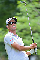 Adam Scott (AUS) watches his tee shot on 7 during round 2 of the World Golf Championships, Mexico, Club De Golf Chapultepec, Mexico City, Mexico. 3/3/2017.<br /> Picture: Golffile | Ken Murray<br /> <br /> <br /> All photo usage must carry mandatory copyright credit (&copy; Golffile | Ken Murray)