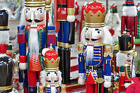 Christmas decorations of little drummer boys-nutcracker. Al's Nursery. Sherwood. Oregon