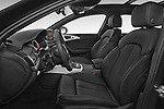 Front seat view of 2015 Audi A6 S Line 5 Door Wagon front seat car photos