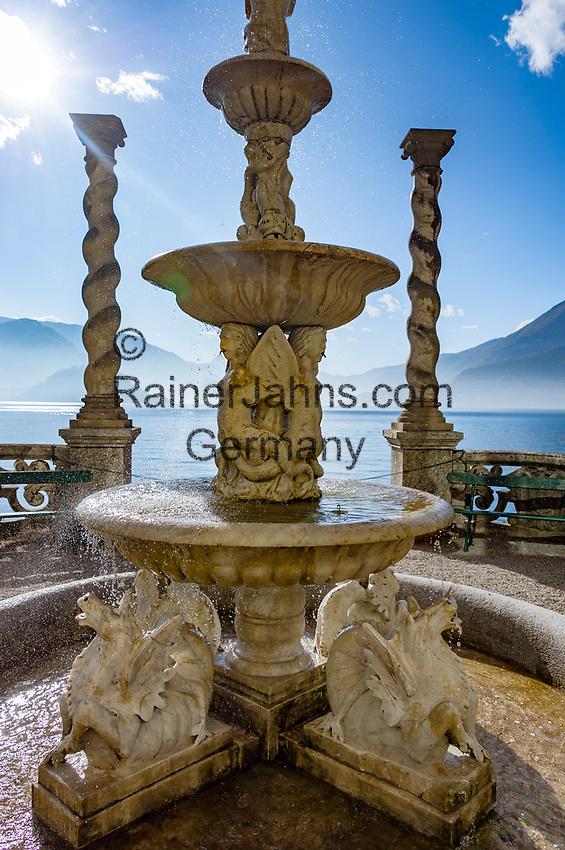 Italy, Lombardia, Lake Como, Varenna: at botanical garden of Villa Monastero   Italien, Lombardei, Comer See, Varenna: im Botanischen Garten der Villa Monastero