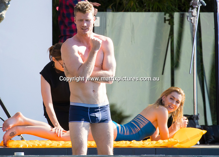19 SEPTEMBER 2016 MELBOURNE, AUSTRALIA<br /> WWW.MATRIXPICTURES.COM.AU<br /> <br /> EXCLUSIVE PICTURES<br /> <br /> Richie Strahan and Alexandra nation pictured at photoshoot in Sydney.<br /> <br /> *ALL WEB USE MUST BE CLEARED*<br /> <br /> Please contact prior to use:  <br /> <br /> +61 2 9211-1088 or email images@matrixmediagroup.com.au