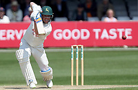 Tom Moores of Nottinghamshire drives the ball for four runs during Essex CCC vs Nottinghamshire CCC, Specsavers County Championship Division 1 Cricket at The Cloudfm County Ground on 16th May 2019