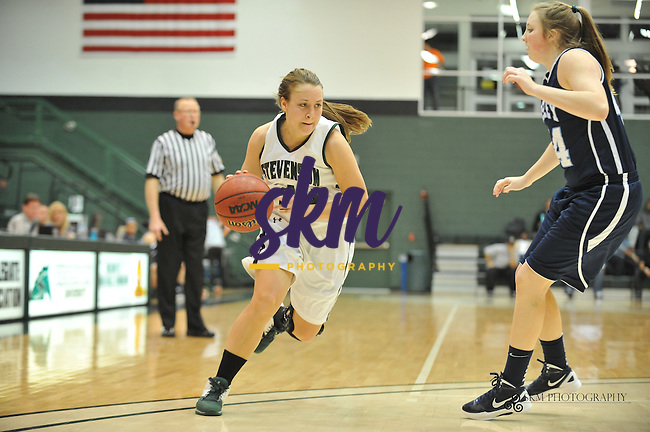 Women Mustangs trounced the Wesley Wolverines 63 - 42.