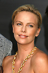 "Actress Charlize Theron arrives to The World Premiere of Columbia Pictures' ""Hancock"" at the Grauman's Chinese Theatre on June 30, 2008 in Hollywood, California."
