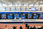 UNIVERSITY PARK, PA - MARCH 25: Sidarth Kumbla of Columbia University takes on teammate Sam Moelis in the preliminary round of the foil competition during the Division I Men's Fencing Championship held at the Multi-Sport Facility on the Penn State University campus on March 25, 2018 in University Park, Pennsylvania. (Photo by Doug Stroud/NCAA Photos via Getty Images)