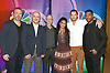 Tyler Labine, Anupam Kher, Dr Eric Manheimer, Freema Agyeman,Ryan  Eggold &amp; Jocko Sims of &quot;New Amsterdam&quot; attends the NBC New York Fall Junket on September 6, 2018 at The Four Seasons Hotel in New York, New York, USA. <br /> <br /> photo by Robin Platzer/Twin Images<br />  <br /> phone number 212-935-0770