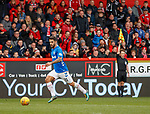 03.03.2019 Aberdeen v Rangers: Daniel Candeias flagged for offside