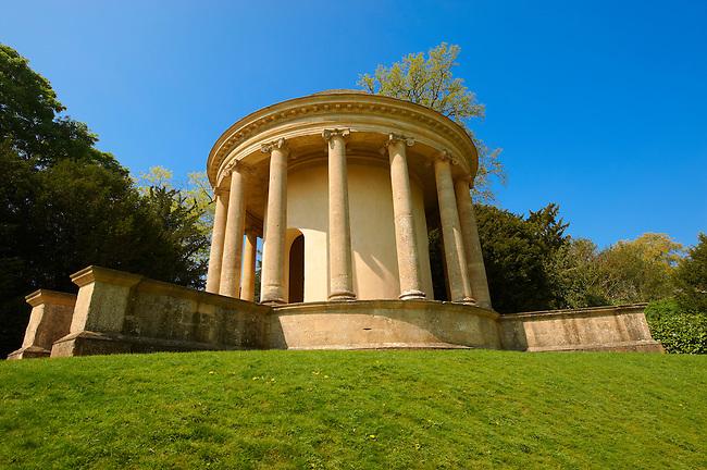 The Neo-classic Eleven Acre Rotinda folly, Stowe, Buckingham, England