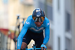 Nairo Quintana (COL) Movistar Team on the 17% climb during Stage 13 of the 2019 Tour de France an individual time trial running 27.2km from Pau to Pau, France. 19th July 2019.<br /> Picture: Colin Flockton | Cyclefile<br /> All photos usage must carry mandatory copyright credit (© Cyclefile | Colin Flockton)
