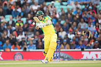 Pat Cummins (Australia) picks up through mid wicket for four during India vs Australia, ICC World Cup Cricket at The Oval on 9th June 2019