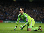 Manuel Neuer of Bayern Munich   - UEFA Champions League group E - Manchester City vs Bayern Munich - Etihad Stadium - Manchester - England - 25rd November 2014  - Picture Simon Bellis/Sportimage
