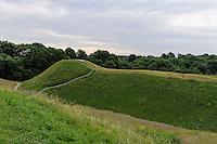 Schüttburgen in Kernave, Litauen, Europa, Unesco-Weltkulturerbe