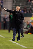 Colorado Rapids fhead coach Gary Smith gives directions. The Colorado Rapids defeated CD Chivas USA 1-0 at Home Depot Center stadium in Carson, California on Saturday March 26, 2011...