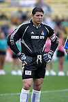 12 Jun 2004: Wizards captain Tony Meola before the game. The Columbus Crew and Kansas City Wizards tied 2-2 at Crew Stadium in Columbus, OH during a regular season Major League Soccer game..