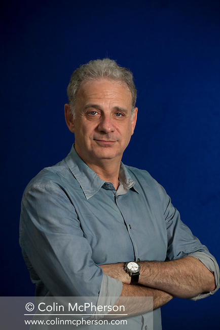 American author, journalist and biographer James Gleick, pictured at the Edinburgh International Book Festival where he talked about his seminal work entitled 'The Information'. The three-week event is the world's biggest literary festival and is held during the annual Edinburgh Festival. The 2012 event featured talks and presentations by more than 500 authors from around the world.