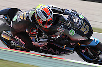 15.06.2013 Barcelona, Spain. Aperol  Catalonia Grand Prix. Picture show Johann Zarco ridding Suter during Moto2 qualifyng at Circuit de Catalunya