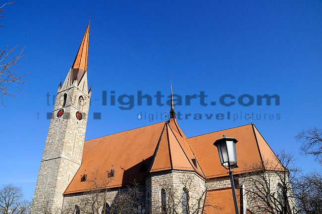 St. Laurentius Kirche, Church, Fürstentum Liechtenstein, Principality of Liechtenstein.