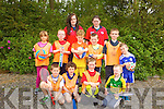 Having fun at the multi-sports camp in Moyvane last week from front l-r were: Alex Saccard, Jamie Moloney, Jack O'Donoghue and James Kissane. Back l-r were: Sarah Quinn, Seanie Sweeney, Ger Brosnan, Robert Sexton McEnery, Dairmuid O'Connor and Cillian Hannon. Having fun at the multi-sports camp in Moyvane last week from front l-r were: Alex Saccard, Jamie Moloney, Jack O'Donoghue and James Kissane. Back l-r were: Sarah Quinn, Seanie Sweeney, Ger Brosnan, Robert Sexton McEnery, Dairmuid O'Connor and Cillian Hannon with instructors Elaine Hudson and Louise Horgan.
