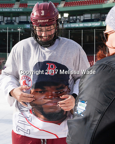 Serena Sommerfield (BC - 3) - The Boston College Eagles practiced at Fenway on Monday, January 9, 2017, in Boston, Massachusetts.Serena Sommerfield (BC - 3) - The Boston College Eagles practiced at Fenway on Monday, January 9, 2017, in Boston, Massachusetts.
