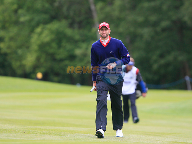 Seve Benson (ENG) walks onto the 6th green during Day 3 of the BMW PGA Championship Championship at, Wentworth Club, Surrey, England, 28th May 2011. (Photo Eoin Clarke/Golffile 2011)