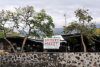 Weekly Farmers' Market, Kailua-Kona, Big Island, Hawaii