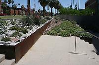 Meinel Optical Science Center Expansion, University of Arizona, Tucson. Joy Lyndes, Landscape Architect.