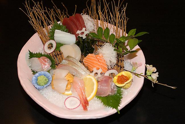 Sushi Dish, Hakubai Restaurant, Japanese Cuisine, Kitano Hotel, New York, New York