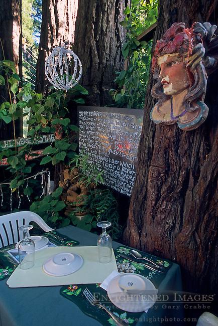 Ciao Bella restaurant, Ben Lomand, Santa Cruz County, California