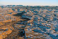 Utah landscapes near Mexican Mountain. Dec 27, 2013