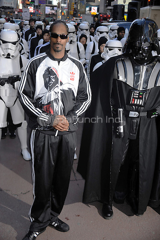 Snoop Dog launches the Adidas Originals X Star Wars Collection at Foot Locker Times Square in New York City. February 4, 2010 Credit: Dennis Van Tine/MediaPunch