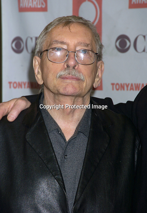Edward Albee ..at The 2005 Tony Awards Nominees Meet the Press Reception on May 11, 2005 at The Marriott Marquis Hotel. ..Photo by Robin Platzer, Twin Images