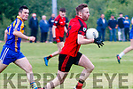 Donal O'Connor Kenmare Shamrocks in Action against Kenmare DIstrict in the Kerry Senior Football Championship in Templenoe on Friday Night