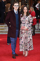 Tom and Giovanna Fletcher<br /> arrives for the The Prince&rsquo;s Trust Celebrate Success Awards 2017 at the Palladium Theatre, London.<br /> <br /> <br /> &copy;Ash Knotek  D3241  15/03/2017