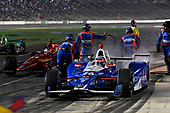 Verizon IndyCar Series<br /> Rainguard Water Sealers 600<br /> Texas Motor Speedway, Ft. Worth, TX USA<br /> Saturday 10 June 2017<br /> Takuma Sato, Andretti Autosport Honda pit stop<br /> World Copyright: Scott R LePage<br /> LAT Images<br /> ref: Digital Image lepage-170610-TMS-6551